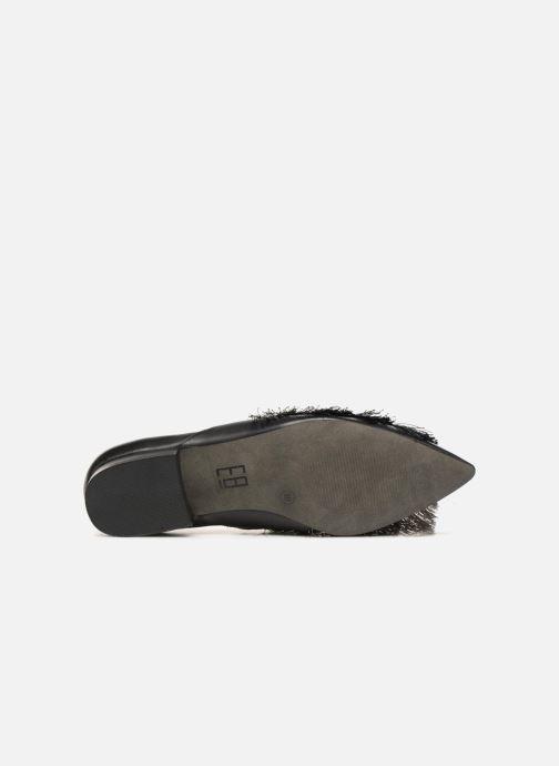 Slipper E8 by Miista SIRI schwarz ansicht von oben