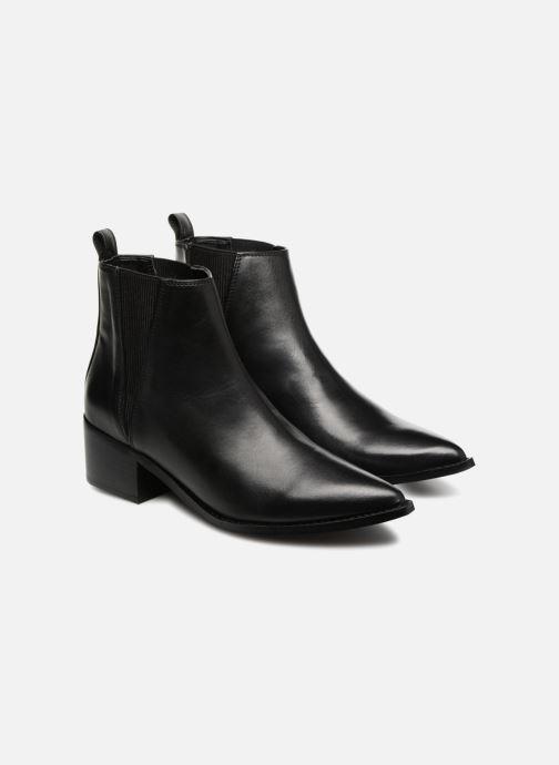 Bottines et boots E8 by Miista ULA Noir vue 3/4