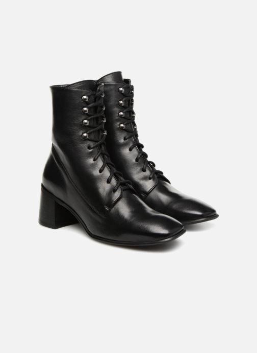 Boots en enkellaarsjes E8 by Miista EMMA Zwart 3/4'