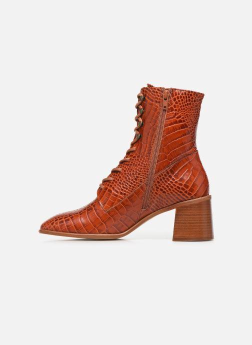 Boots en enkellaarsjes E8 by Miista EMMA Oranje voorkant