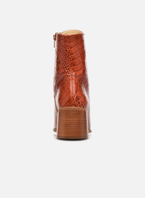 Bottines et boots E8 by Miista EMMA Orange vue droite