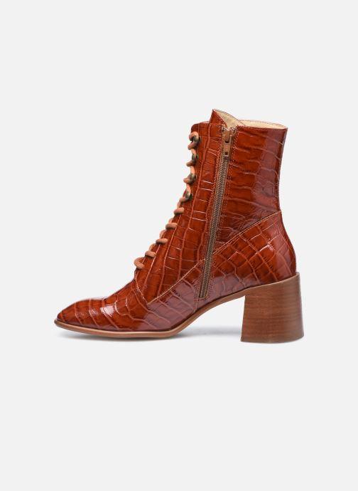 Boots en enkellaarsjes E8 by Miista EMMA Bruin voorkant