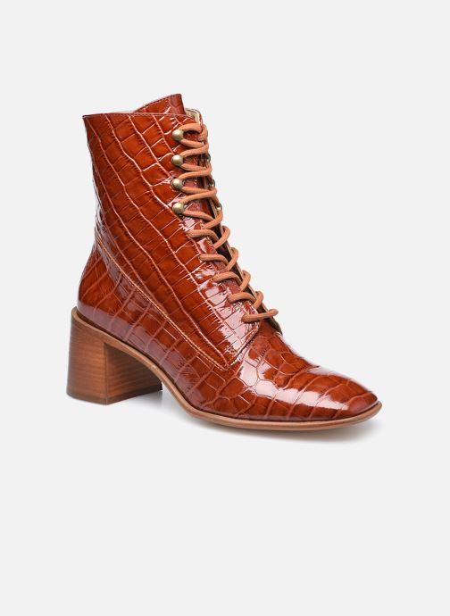 Stiefeletten & Boots E8 by Miista EMMA braun detaillierte ansicht/modell