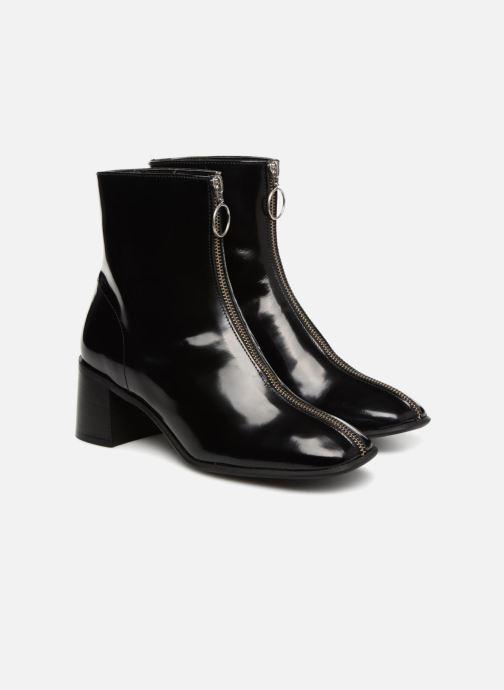 Bottines et boots E8 by Miista SAGA Noir vue 3/4