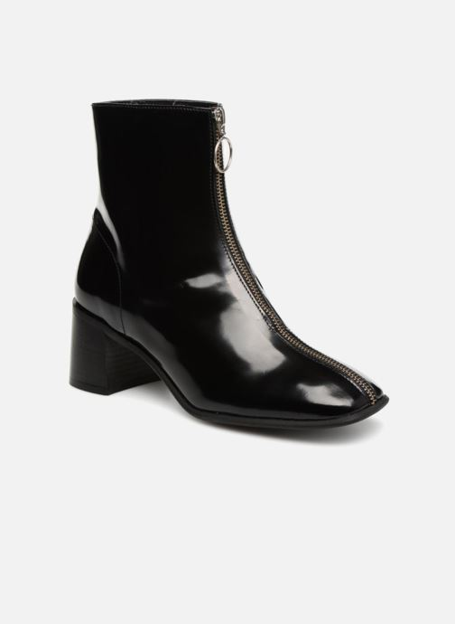 Boots en enkellaarsjes E8 by Miista SAGA Zwart detail
