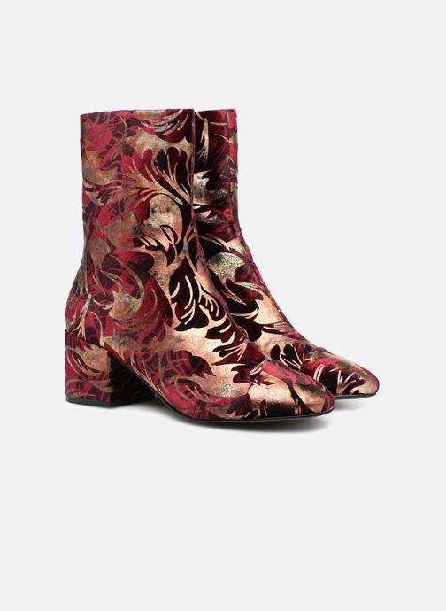 Bottines et boots E8 by Miista ISA Bordeaux vue 3/4