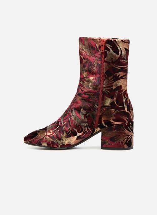 Boots en enkellaarsjes E8 by Miista ISA Bordeaux voorkant