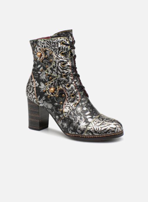 Ankelstøvler Laura Vita Elea 038 Sølv detaljeret billede af skoene