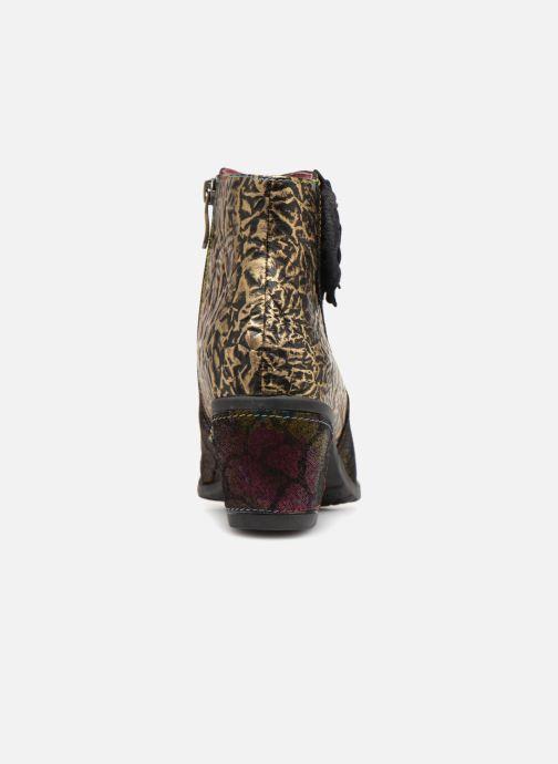 Bottines et boots Laura Vita Christie 038 Or et bronze vue droite