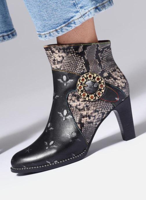 Bottines et boots Laura Vita Albane 021 Gris vue bas / vue portée sac