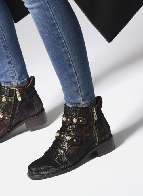 Bottines et boots Laura Vita Emma 02 Multicolore vue bas / vue portée sac