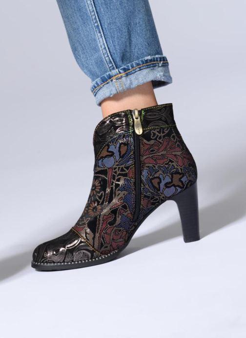 Bottines et boots Laura Vita Albane 0383 Multicolore vue bas / vue portée sac
