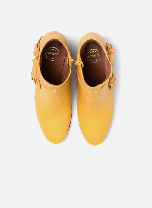 Bottines et boots Made by SARENZA Toundra Girl Bottines à Talons #7 Jaune vue portées chaussures