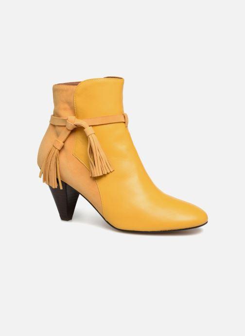 Bottines et boots Made by SARENZA Toundra Girl Bottines à Talons #7 Jaune vue droite
