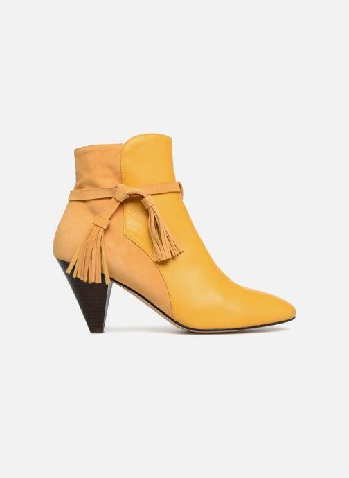 Bottines et boots Made by SARENZA Toundra Girl Bottines à Talons #7 Jaune vue détail/paire
