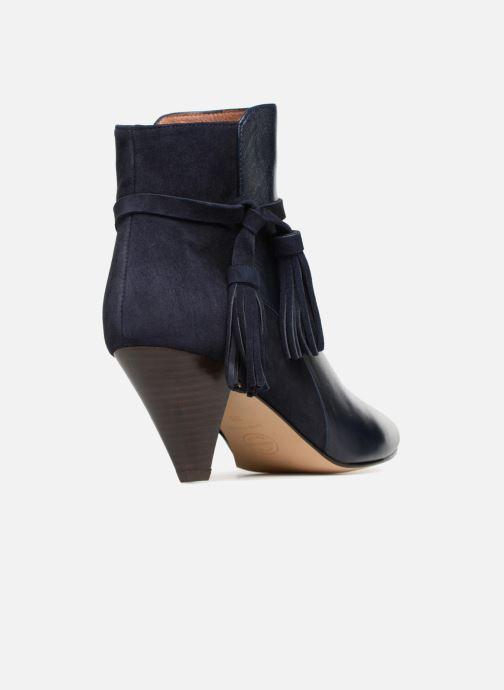 Bottines et boots Made by SARENZA Toundra Girl Bottines à Talons #7 Bleu vue face