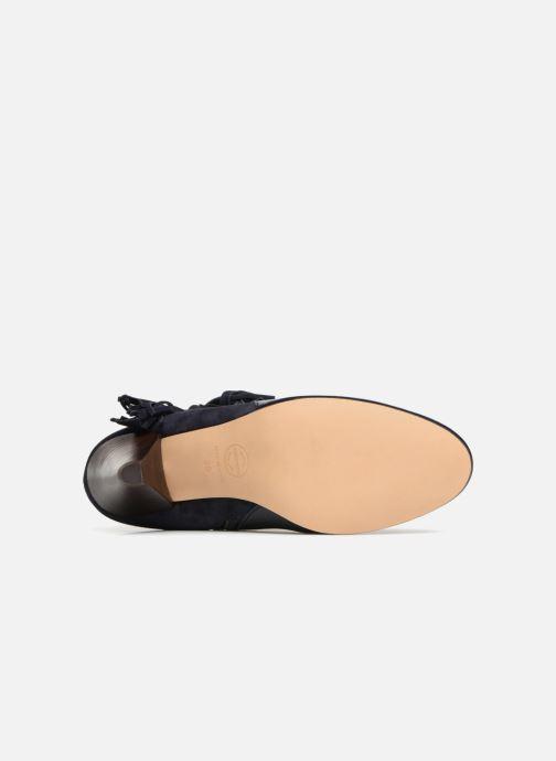 Bottines et boots Made by SARENZA Toundra Girl Bottines à Talons #7 Bleu vue haut
