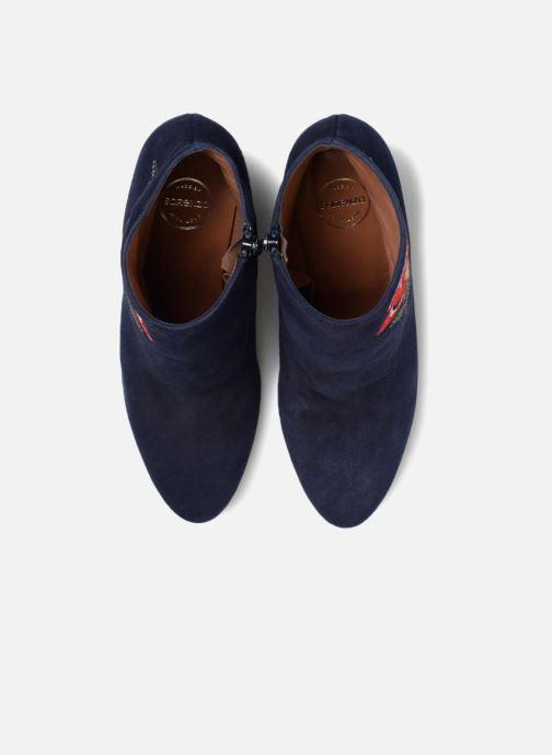 Stiefeletten & Boots Made by SARENZA Toundra Girl Bottines à Talons #10 blau schuhe getragen