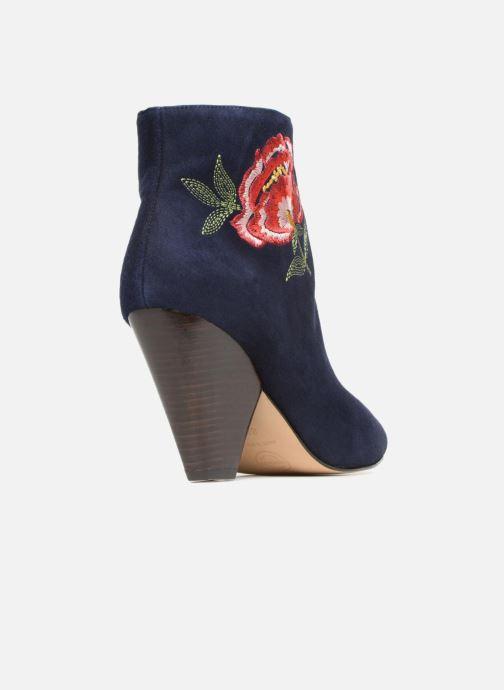 Bottines et boots Made by SARENZA Toundra Girl Bottines à Talons #10 Bleu vue face
