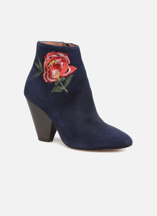 Stiefeletten & Boots Made by SARENZA Toundra Girl Bottines à Talons #10 blau ansicht von rechts
