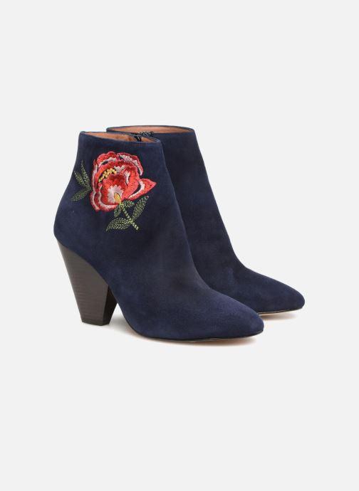 Bottines et boots Made by SARENZA Toundra Girl Bottines à Talons #10 Bleu vue derrière