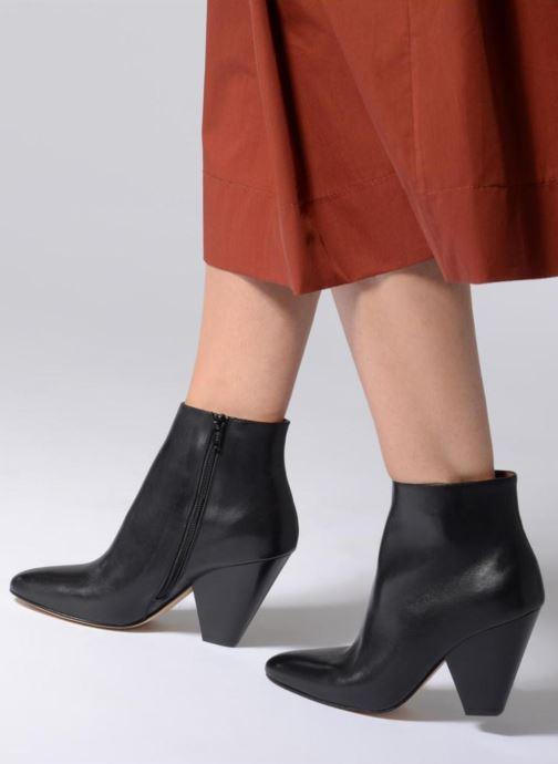 Stiefeletten & Boots Made by SARENZA Toundra Girl Bottines à Talons #10 schwarz ansicht von unten / tasche getragen