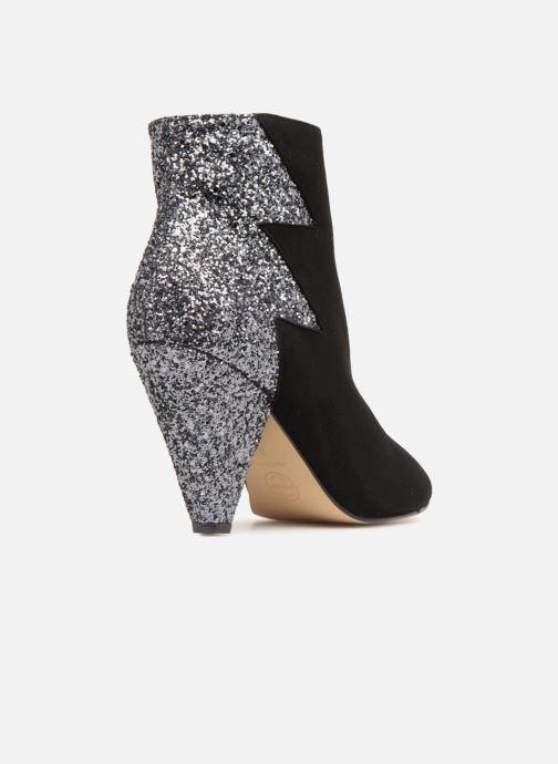 Bottines et boots Made by SARENZA 80's Disco Girl Bottines à Talons #5 Noir vue face
