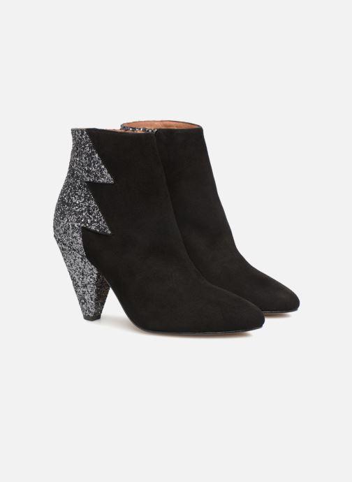 Bottines et boots Made by SARENZA 80's Disco Girl Bottines à Talons #5 Noir vue derrière