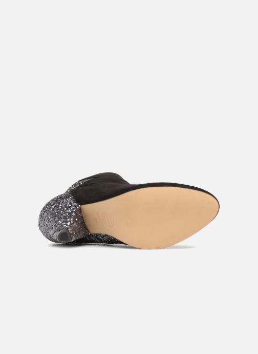 Bottines et boots Made by SARENZA 80's Disco Girl Bottines à Talons #5 Noir vue haut