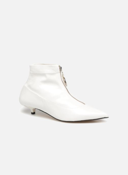 Bottines et boots Made by SARENZA Busy Girl Bottines Plates #1 Blanc vue droite