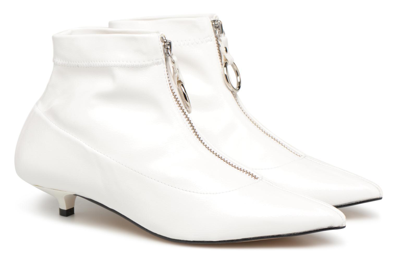 Stiefeletten & Boots Made by SARENZA Busy Girl Bottines Plates #1 weiß ansicht von hinten
