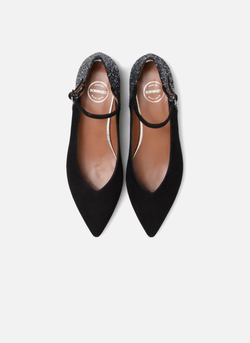 Zapatos de tacón Made by SARENZA 80's Disco Girl Escarpins #1 Negro vista del modelo