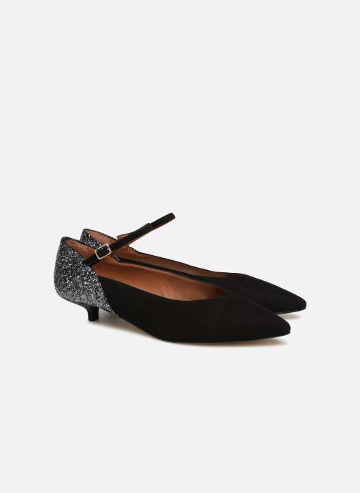 Zapatos de tacón Made by SARENZA 80's Disco Girl Escarpins #1 Negro vistra trasera