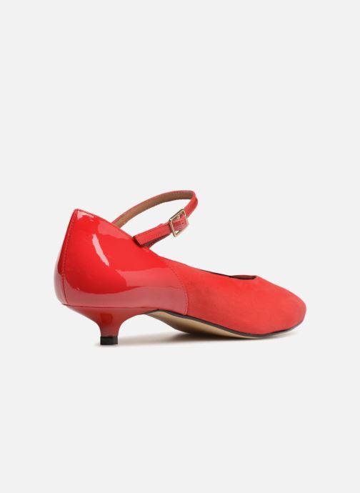 Pumps Made by SARENZA 80's Disco Girl Escarpins #1 rot ansicht von vorne