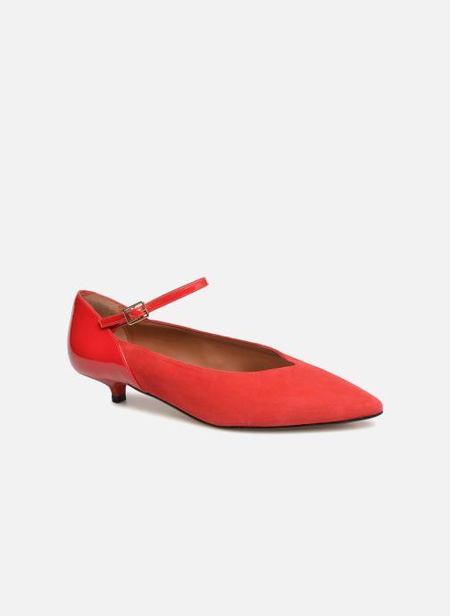 Escarpins Made by SARENZA 80's Disco Girl Escarpins #1 Rouge vue droite