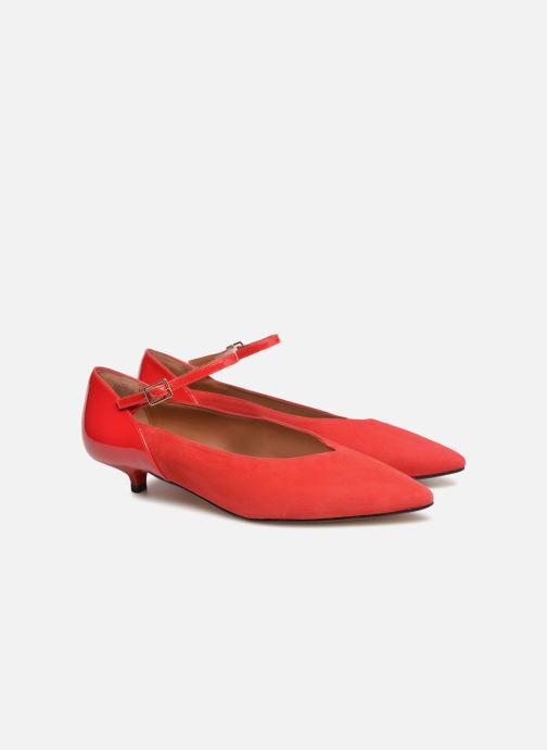 Zapatos de tacón Made by SARENZA 80's Disco Girl Escarpins #1 Rojo vistra trasera
