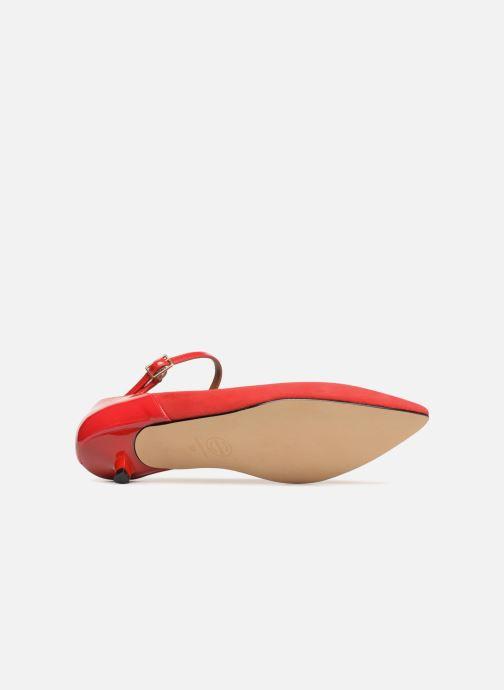 Escarpins Made by SARENZA 80's Disco Girl Escarpins #1 Rouge vue haut