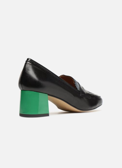 Loafers Made by SARENZA Busy Girl Mocassin #2 Black front view