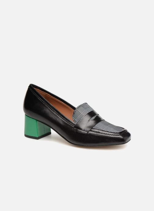 Loafers Made by SARENZA Busy Girl Mocassin #2 Black view from the right