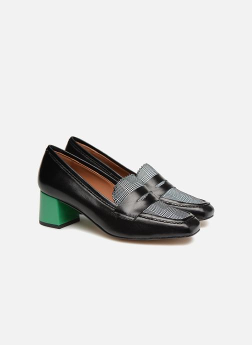 Loafers Made by SARENZA Busy Girl Mocassin #2 Black back view