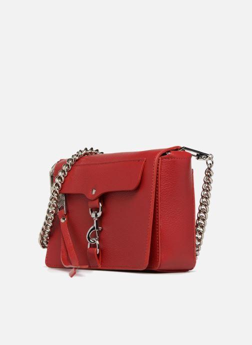 Handbags Rebecca Minkoff Mab Flat Crossbody Red model view