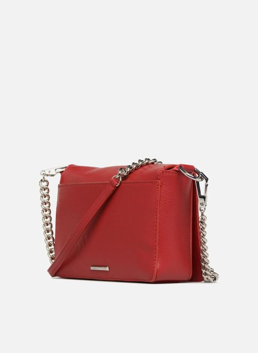 Handbags Rebecca Minkoff Mab Flat Crossbody Red view from the right