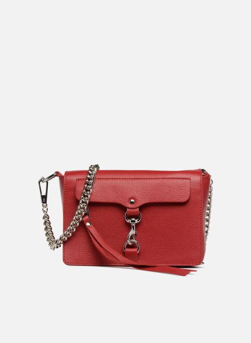 Handbags Rebecca Minkoff Mab Flat Crossbody Red detailed view/ Pair view
