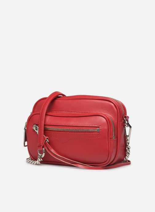 Sacs à main Rebecca Minkoff Solstice Camera Bag Rouge vue portées chaussures