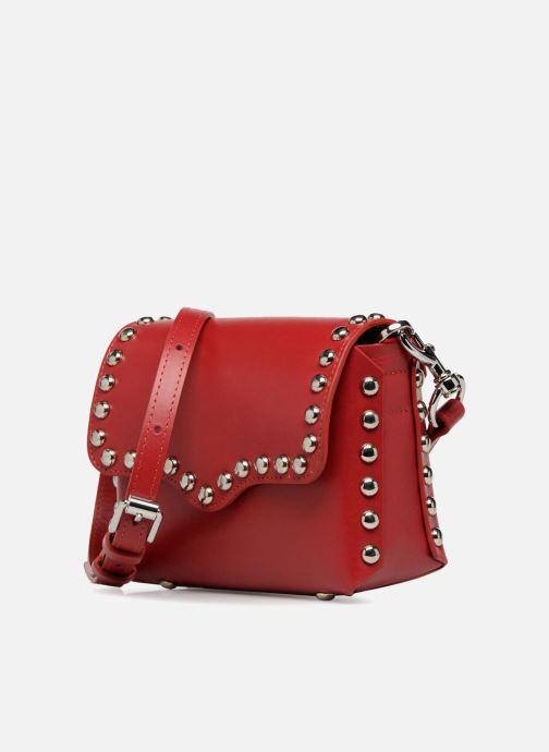 Handtaschen Rebecca Minkoff Bltyhe SM Flap Xbody rot schuhe getragen