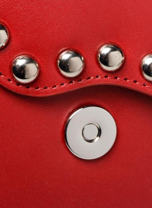 Handtaschen Rebecca Minkoff Bltyhe SM Flap Xbody rot ansicht von links