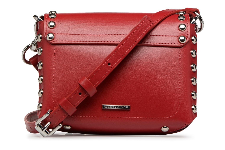 Handtaschen Rebecca Minkoff Bltyhe SM Flap Xbody rot ansicht von vorne
