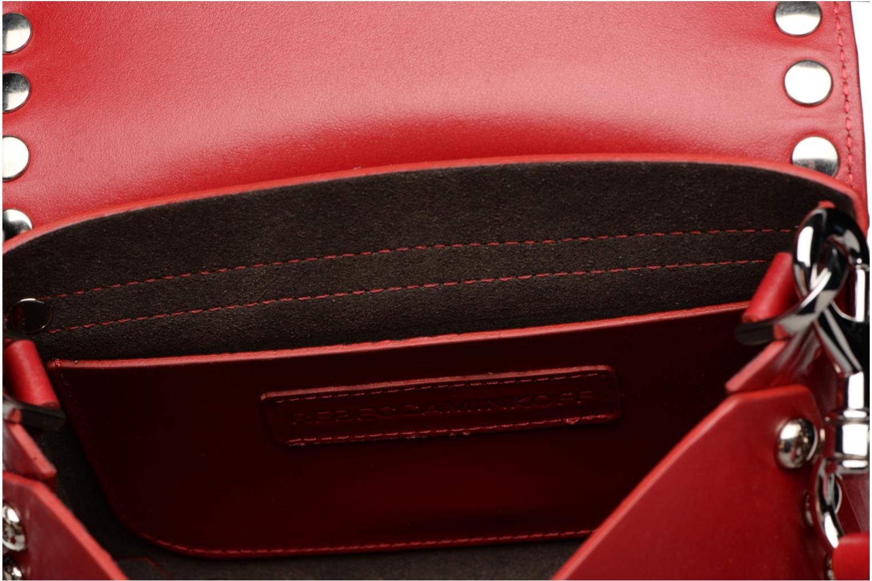 Handtaschen Rebecca Minkoff Bltyhe SM Flap Xbody rot ansicht von hinten