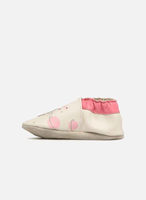 Chaussons Robeez Girly Space Blanc vue face