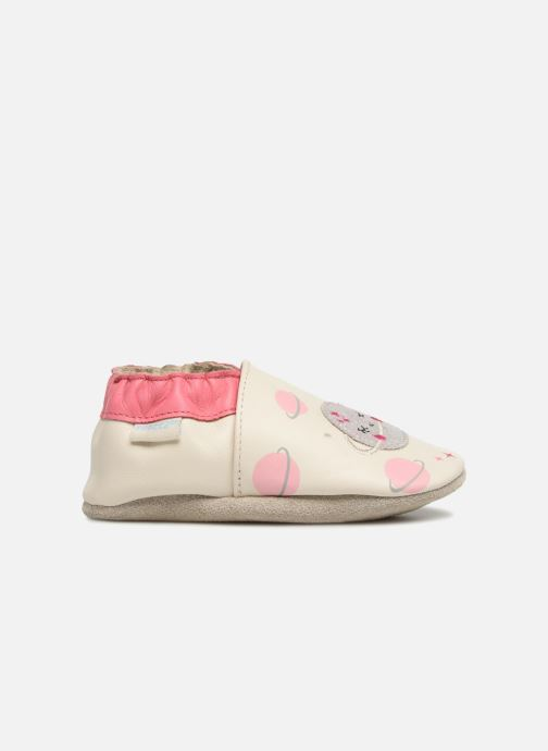 Chaussons Robeez Girly Space Blanc vue derrière